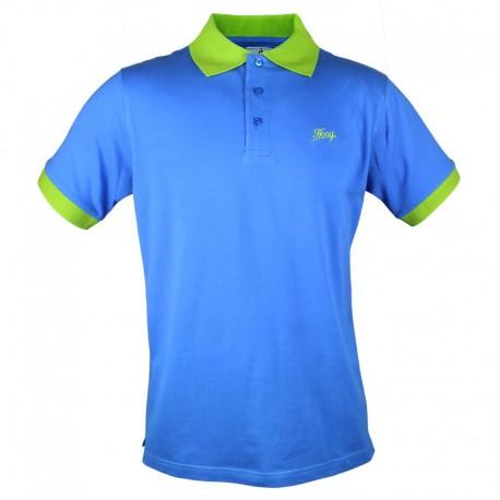 Męska Koszulka Polo - Hooy - Niebieska