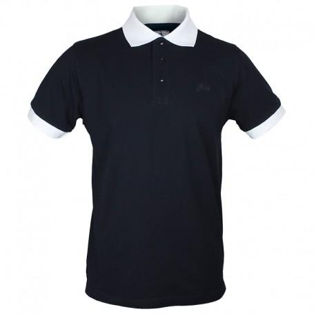 Męska Koszulka Polo - Hooy - Czarna