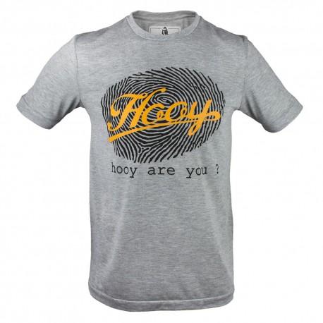 T-shirt Hooy - Hooy are you? 2 szara