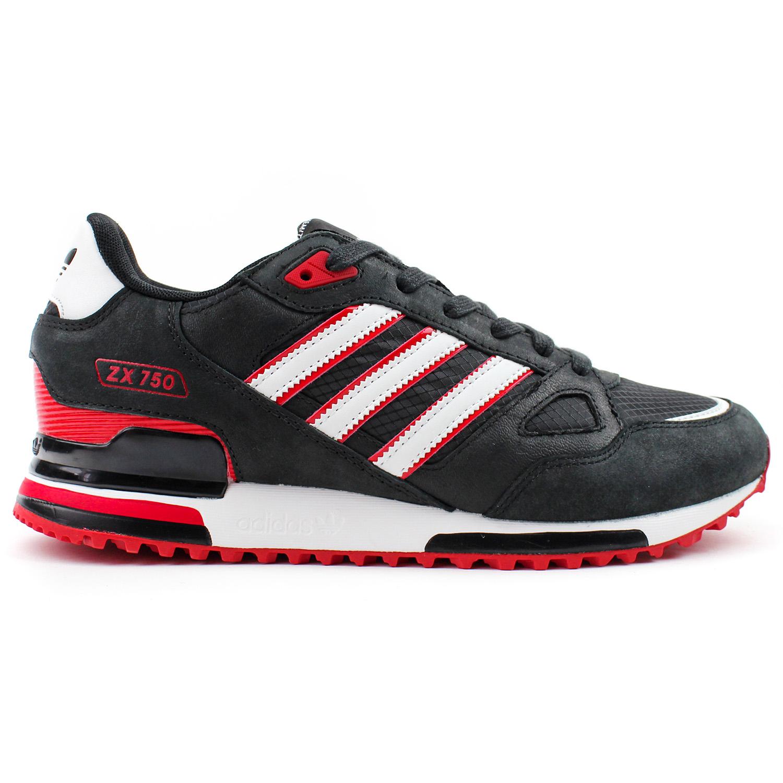 Adidas ZX 750 Oryginals - czarne buty sportowe