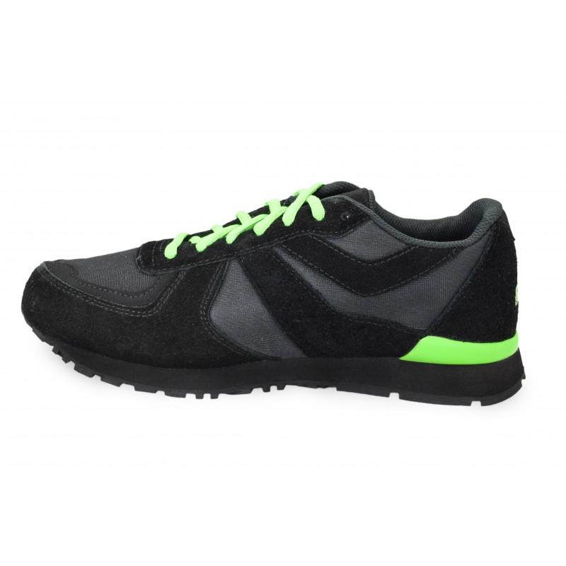 Czarne obuwie sportowe Hooy Spider 201601 004