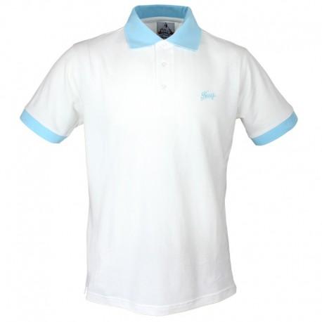 Męska Koszulka Polo - Hooy - Biała