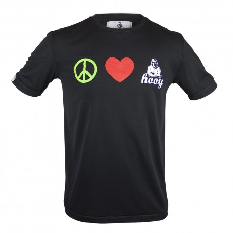 T-shirt Hooy - Peace and Love HOOY