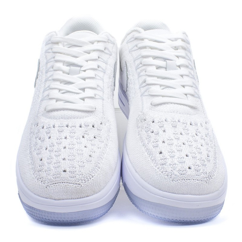 BUTY NIKE AIR FORCE 1 FLYKNIT LOW 820256 102 BIALY Opinie