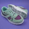Kameleon - pistacjowe, zmieniające kolor damskie buty sportowe