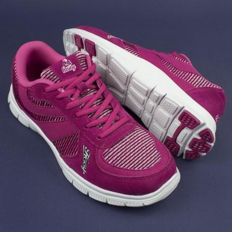 Kameleon - spider, damskie buty sportowe - różowe