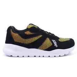 Kameleon 201801 009 - czarne, męskie buty sportowe