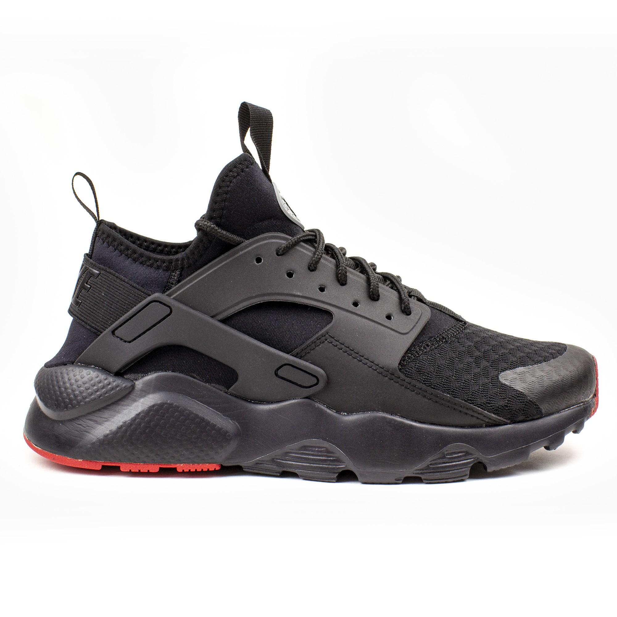 Nike Air Huarache Run Ultra 819685 008 | Czarny, Czerwony