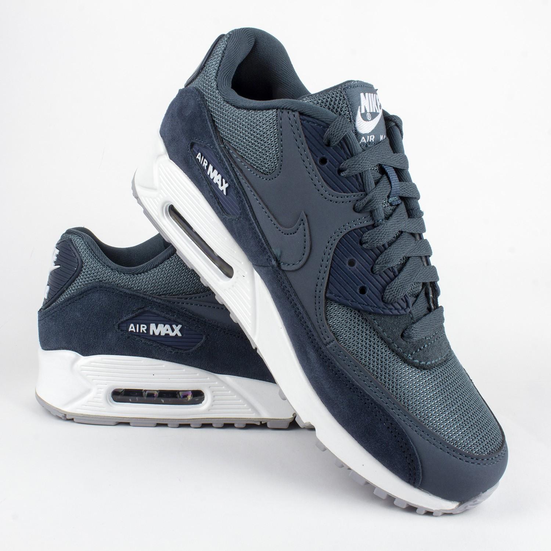 Nike Air Max 90 Essential AJ1285 101 | Biały, Granatowy