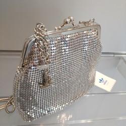 Torebka Adidas - srebrna