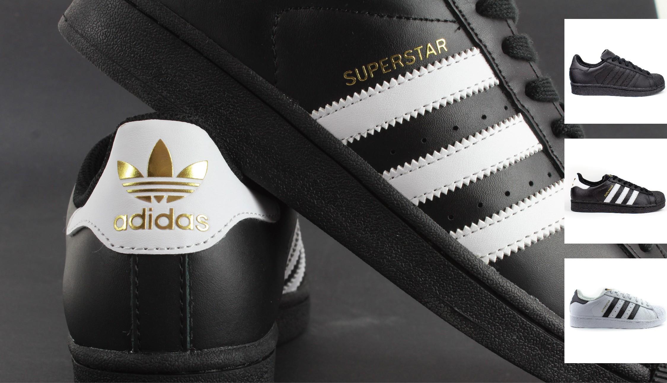 Adidas Superstar - retro młodzieżowy model sportowy, klasyka obuwia sportowego.